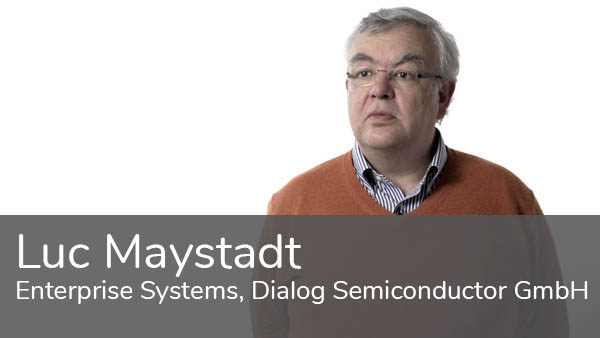 Luc Maystadt, Dialog Semiconductor